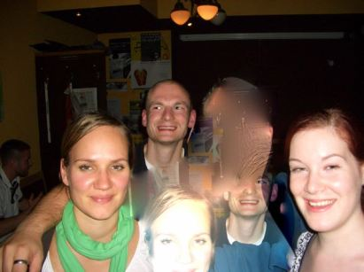 2004. Nadja, Leander, Beate (von links)
