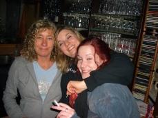 2010. Vera, Annabelle, Beate (von links)