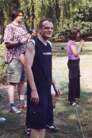 2003. Christian (groß) u. rechts Leander