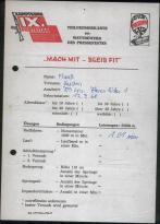 11 Urkunde zum Pressefest 1981