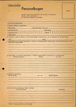 41 DDR Personalbogen 1