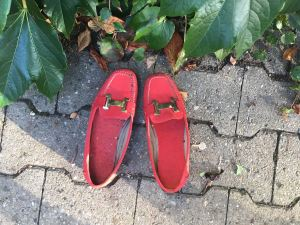 Die Schuhe des Osterhasen