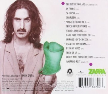 Zappa, Them or Us, 1984